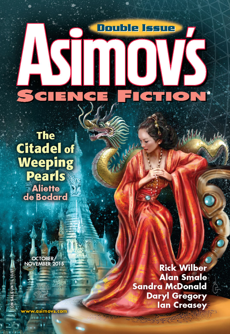 Asimov's Oct/Nov 2015 cover