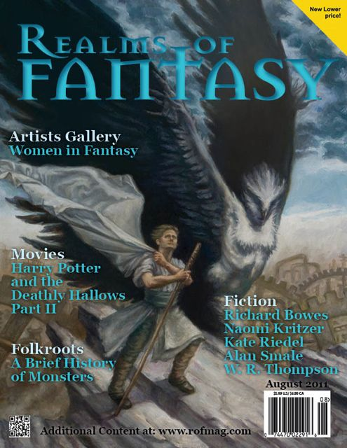Realms of Fantasy Aug 2011 cover