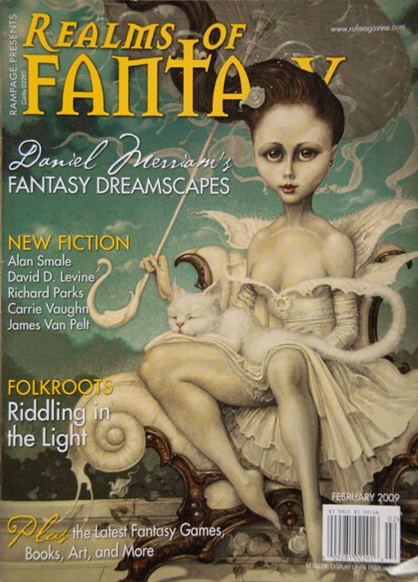 Realms of Fantasy Feb 2009 cover